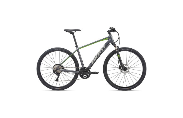 Велосипед Giant Roam 1 Disc S Charcoal/Green 2020