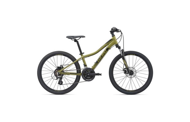 """Giant  велосипед  XtC Jr 1 Disc 24 - 2020 (one size (24""""), 20 olive green)"""